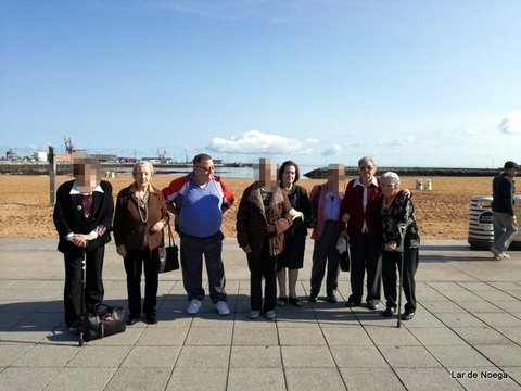 Lar de Noega - Lar de Noega fomenta el uso del transporte público en la Semana Europea de la Movilidad 2017 - Lar de Noega